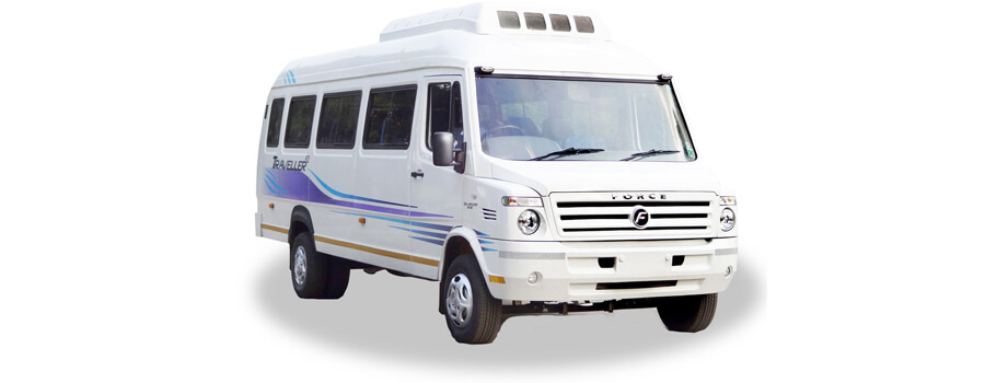 tempo traveller in udaipur rent