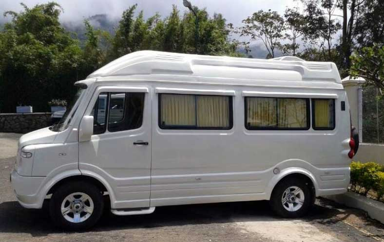 tempo traveller hire in manali